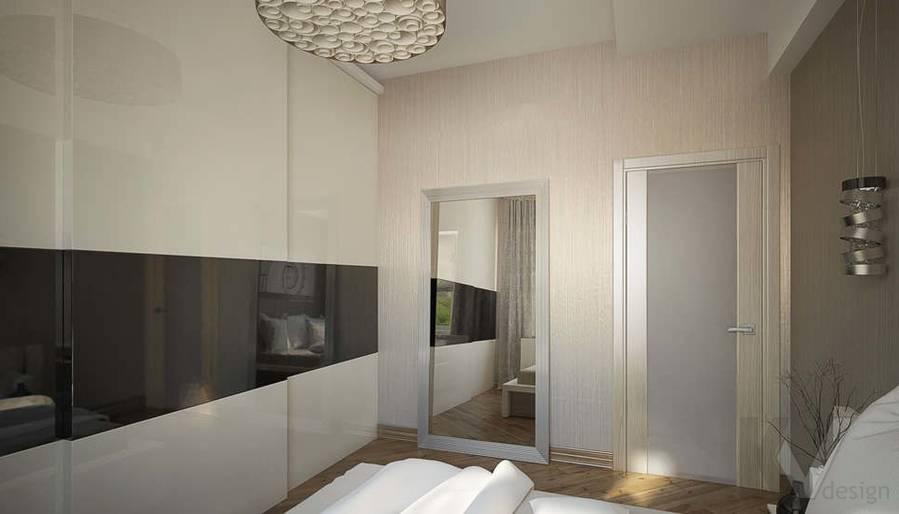 Дизайн квартиры на Старом Арбате, спальня - 4