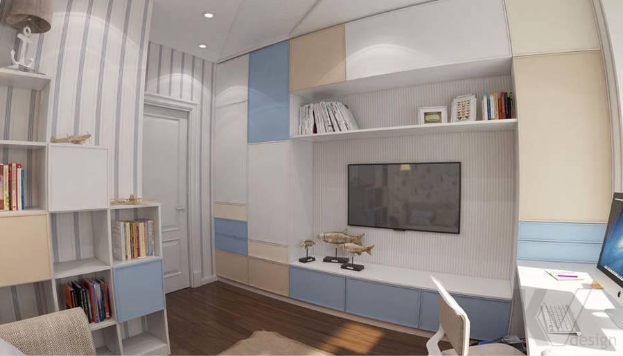 дизайн комнаты мальчика в ЖК Лосиный Остров - 3