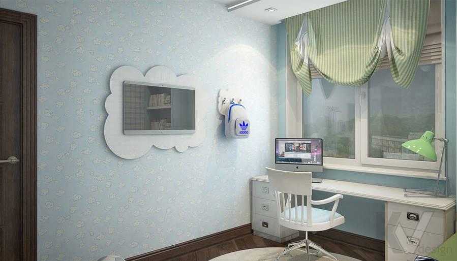 дизайн детской комнаты мальчика, Одинцово - 4