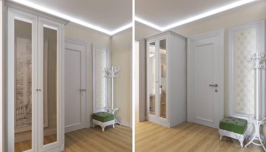 Дизайн прихожей в квартире в Крылатском - 1