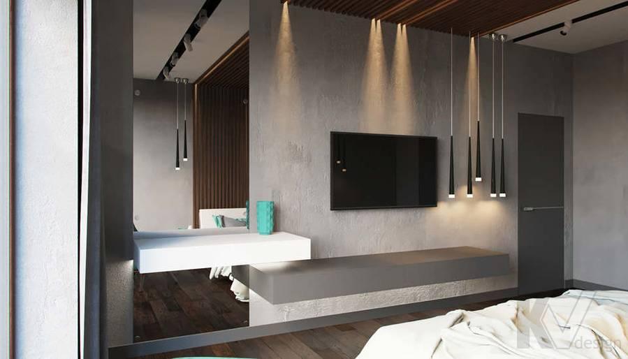 """Дизайн спальни в доме,  КП """"Западная Долина"""" - 2"""