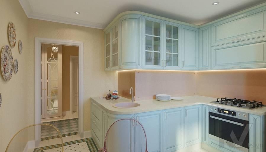 Дизайн кухни в квартире на м. Смоленская - 4