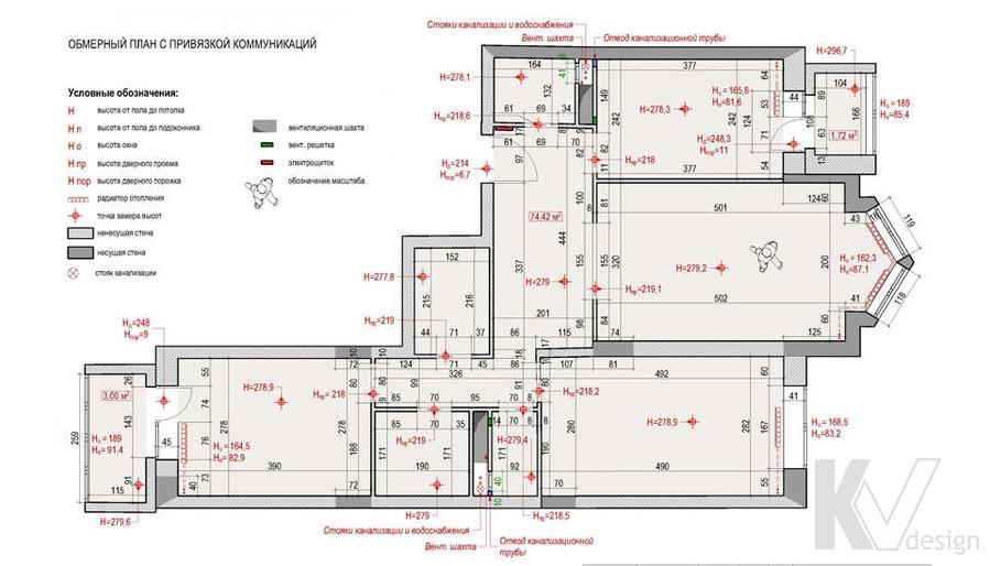 Планировка 3-комнатной квартиры, Новая Москва