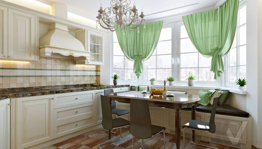 Кухня в 3-комнатной квартире П-44Т, Люблино - 1