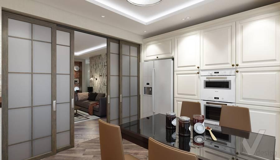 Кухня в 4-комнатной квартире, Реутов - 3