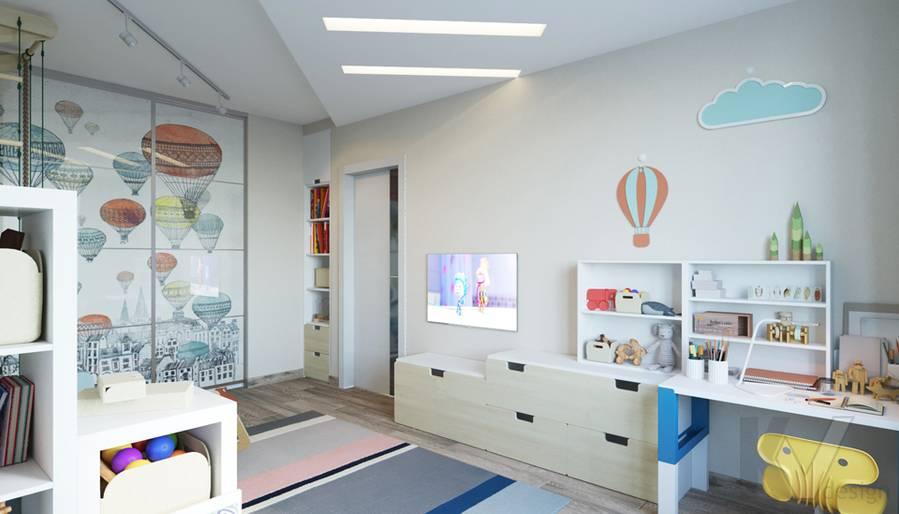 дизайн детской в 3-комнатной квартире, Welton Park - 3