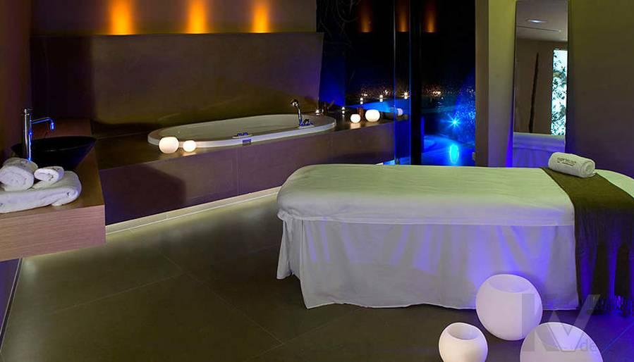 Дизайн СПА-салона, массажная комната