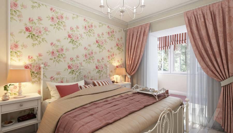 дизайн спальни в 3-комнатной квартире, Новая Москва - 1