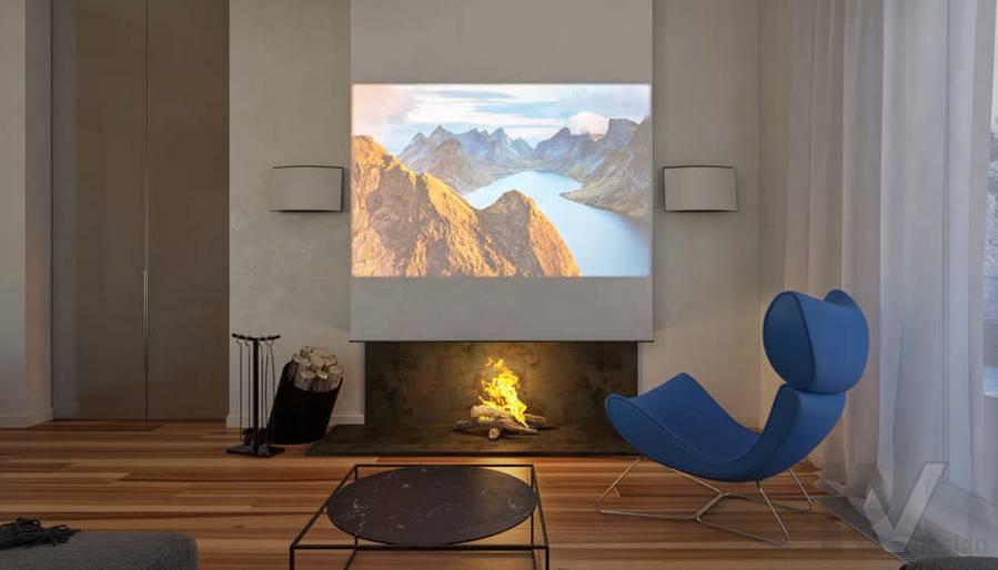 Дизайн гостиной в доме, КП Пестово - 4