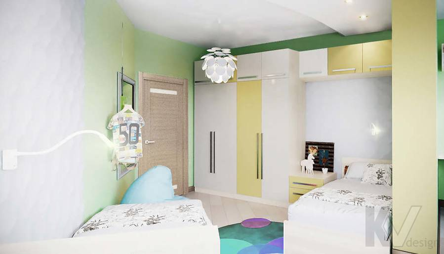 дизайн детской в 3-комнатной квартире, Митино - 4