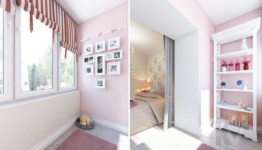 дизайн спальни в 3-комнатной квартире, Новая Москва - 6