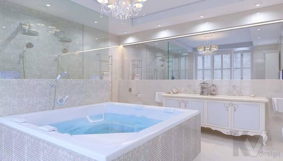 Дизайн ванной комнаты в доме, КП «Парк Авеню» - 4