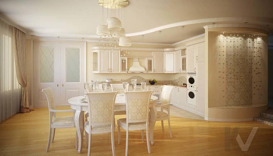 Дизайн квартиры на м. Смоленская, гостиная - 3