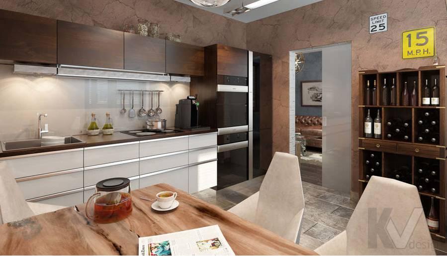 дизайн кухни, КОПЭ-М-Парус, 2