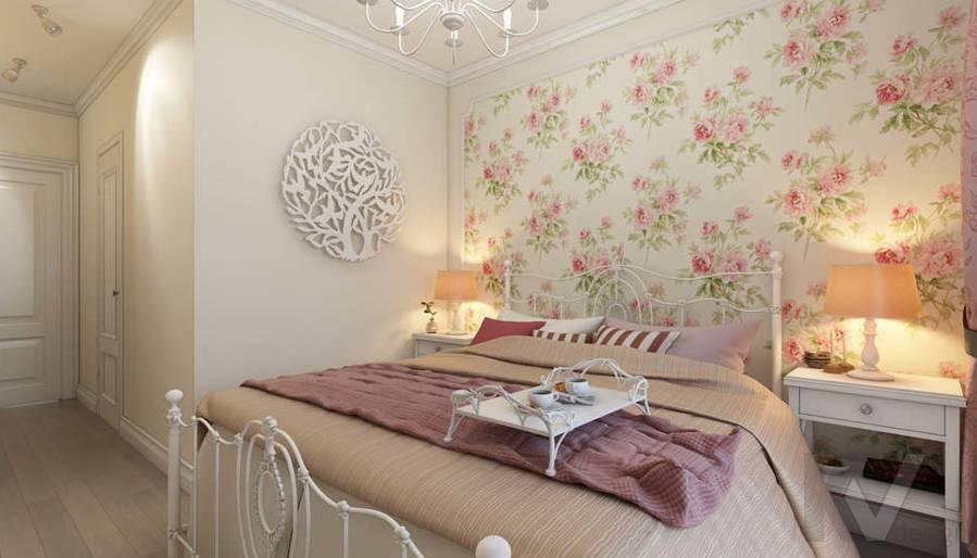 дизайн спальни в 3-комнатной квартире, Новая Москва - 4