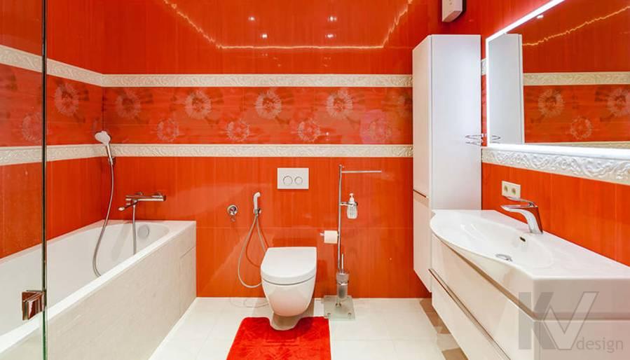 """Фотография ванной в 2-комнатной квартире, ЖК """"Авеню 77"""" - 3"""