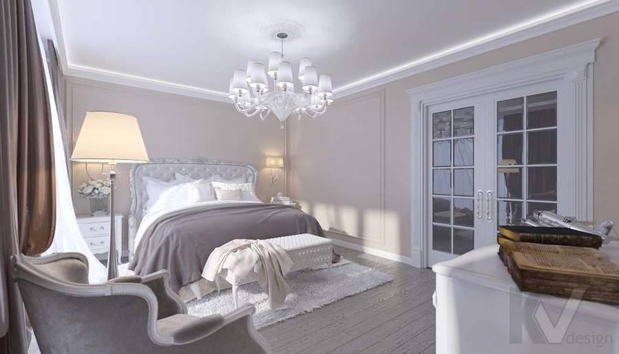 Дизайн спальни в доме, КП «Парк Авеню» - 4