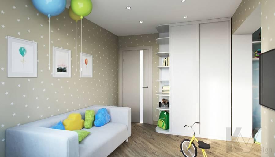 Дизайн детской в 2-комнатной квартире, Некрасовка Парк - 2