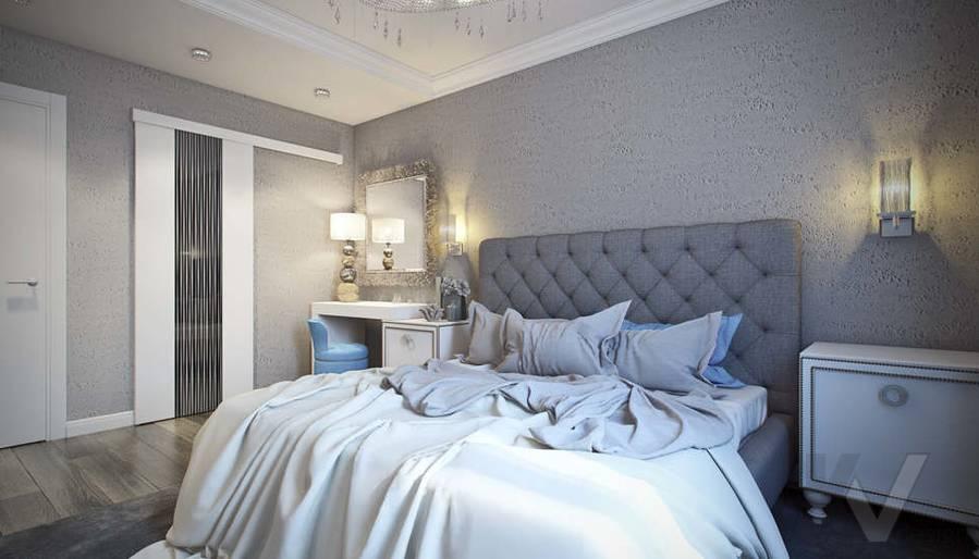 Дизайн спальни в 5-комнатной квартире, Климовск - 3