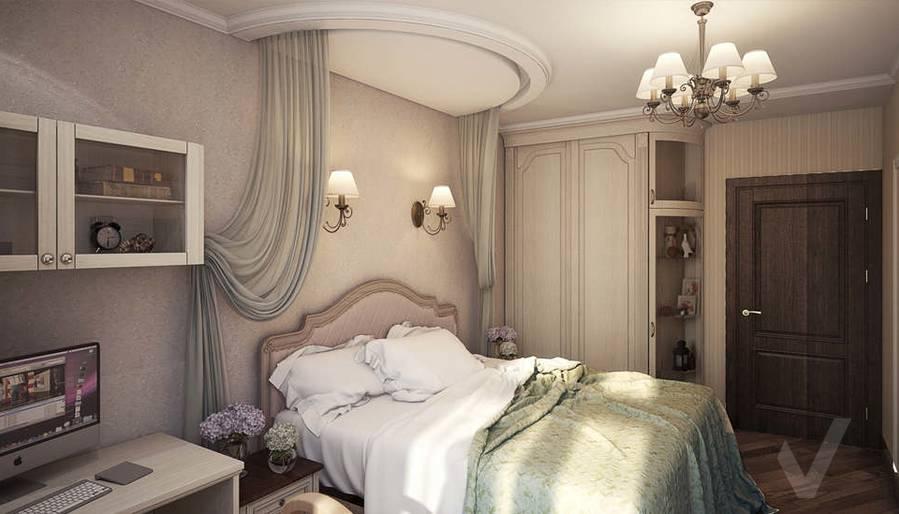 дизайн спальни, Одинцово - 2
