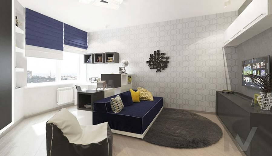 дизайн детской в 3-комнатной квартире, Троицк - 2