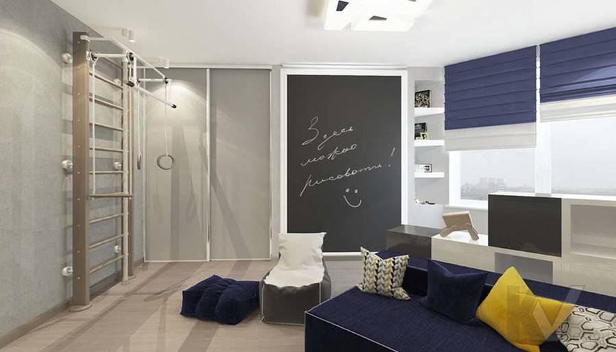 дизайн детской в 3-комнатной квартире, Троицк - 5