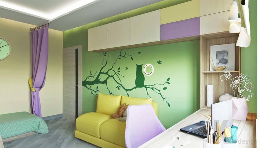 дизайн детской в 3-комнатной квартире, Войковская - 3