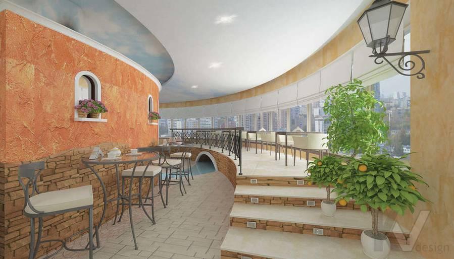 Дизайн ресторана, правый мост