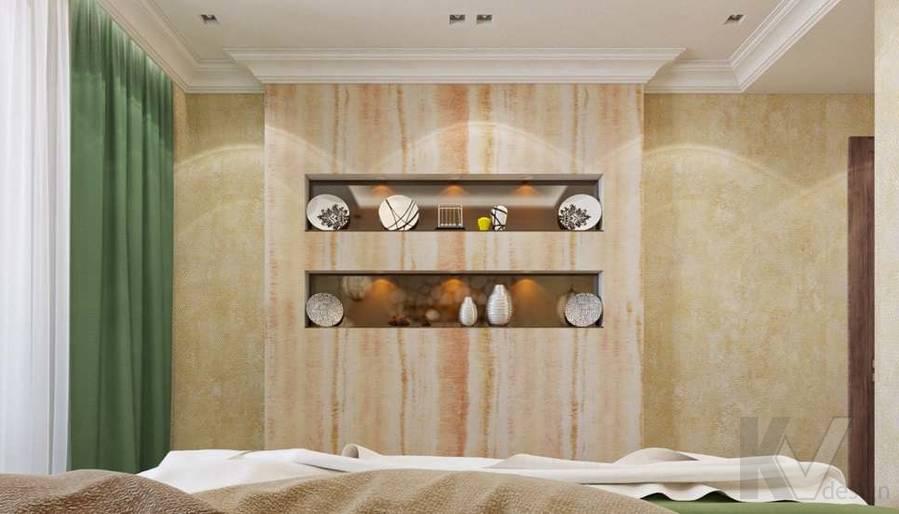 дизайн спальни в четырехкомнатной квартире П-3М - 4