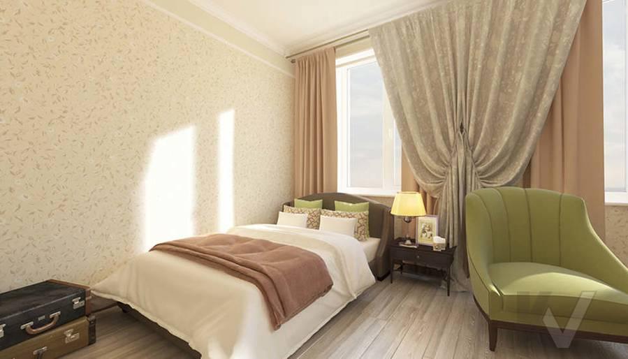 дизайн комнаты бабушки в 3-комнатной квартире, Троицк - 2