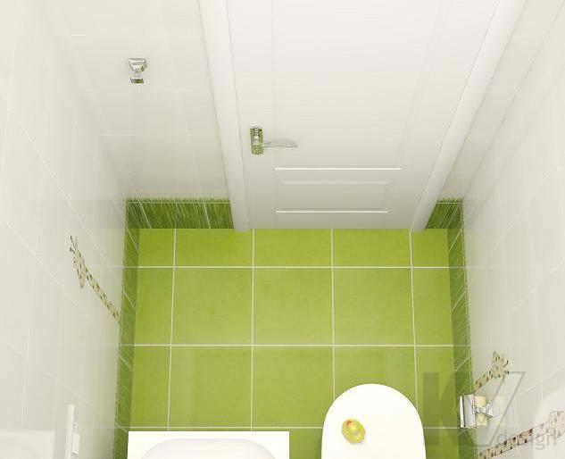 Дизайн 3 комнатной квартиры ЖК Богородский, санузел - 3