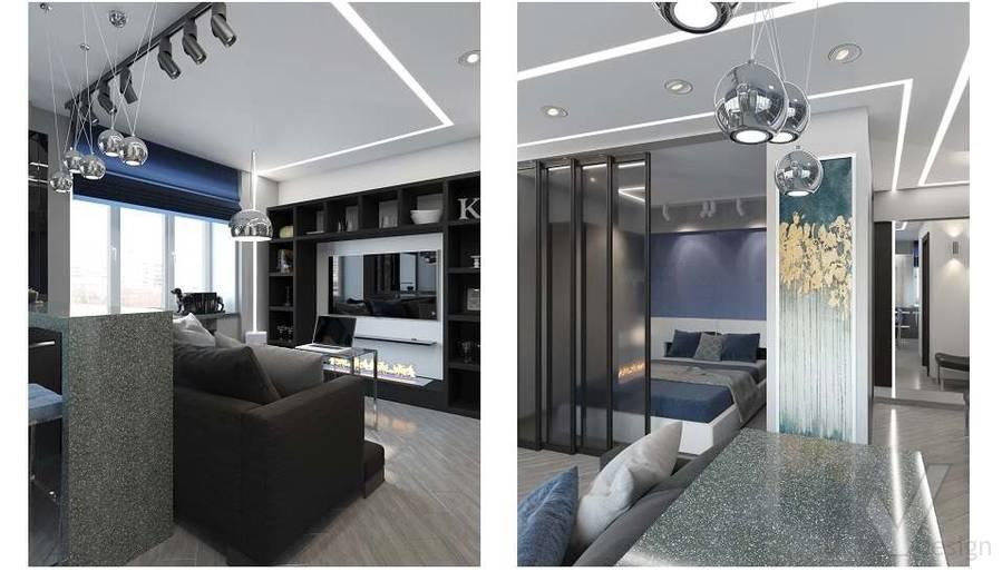 дизайн 1-комнатной квартиры, Красная Пресня - 10