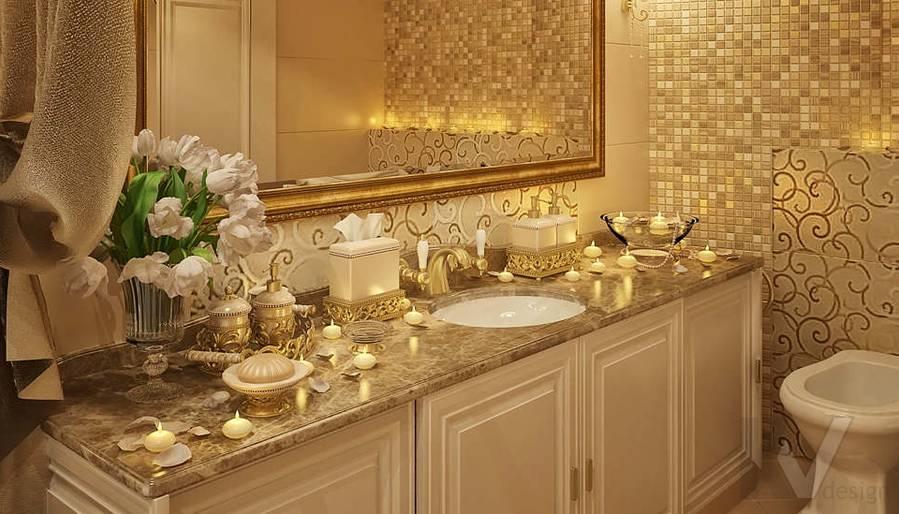 Дизайн квартиры на м. Смоленская, ванная - 6