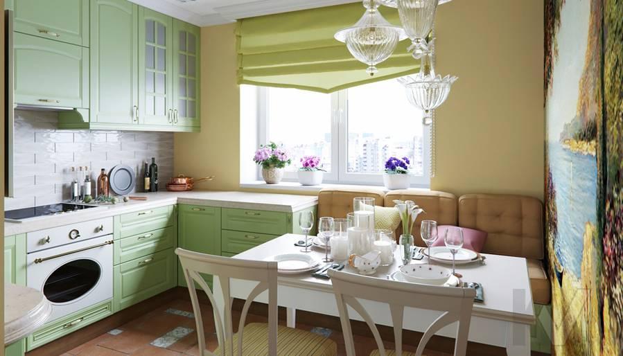 Дизайн кухни в квартире серии П-3, Ясенево - 1