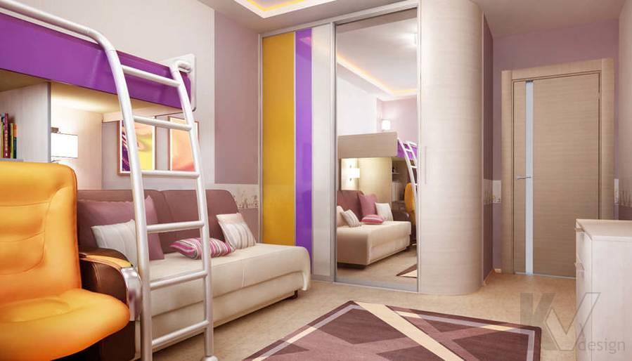 Дизайн детской в двухкомнатной квартире, Подольск - 2