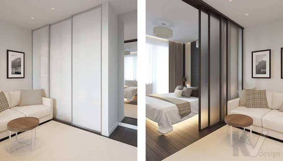 Дизайн спальни в 2-комнатной квартире П-44Т, Московский - 3