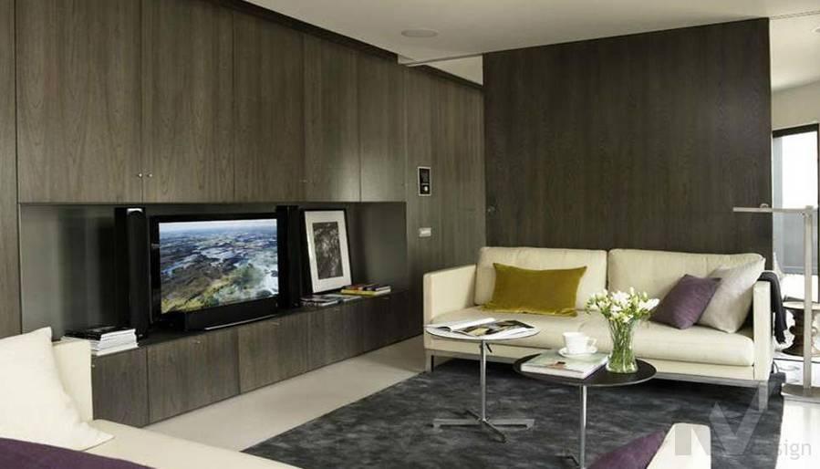 Дизайн таунхауса в Сочи, гостиная-2