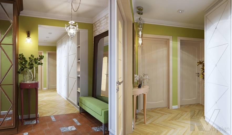 Дизайн прихожей в квартире серии П-3, Ясенево - 4