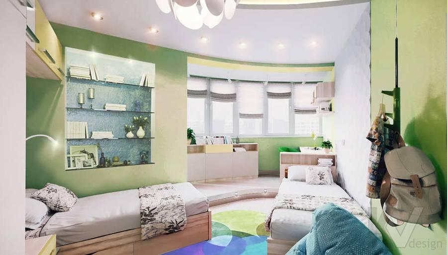 дизайн детской в 3-комнатной квартире, Митино - 1