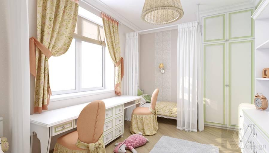 Детская в 4-комнатной квартире, м. Киевская - 1