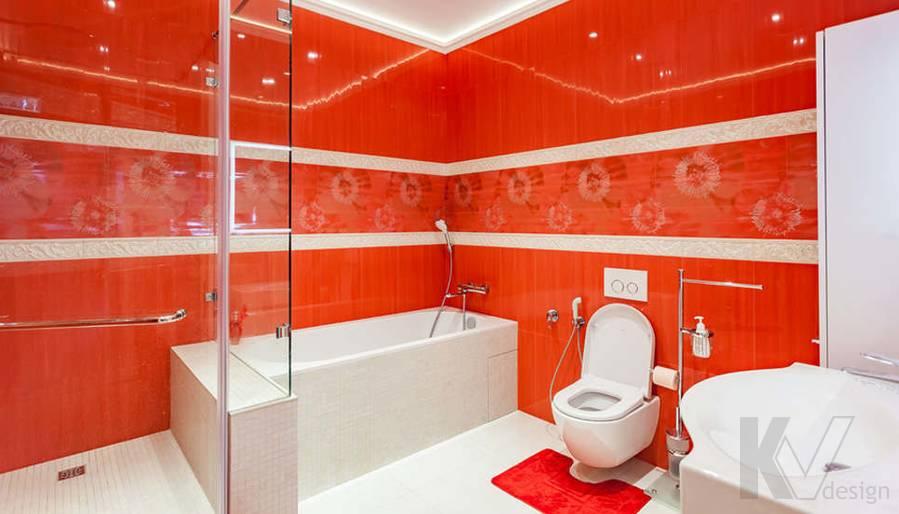 """Фотография ванной в 2-комнатной квартире, ЖК """"Авеню 77"""" - 2"""