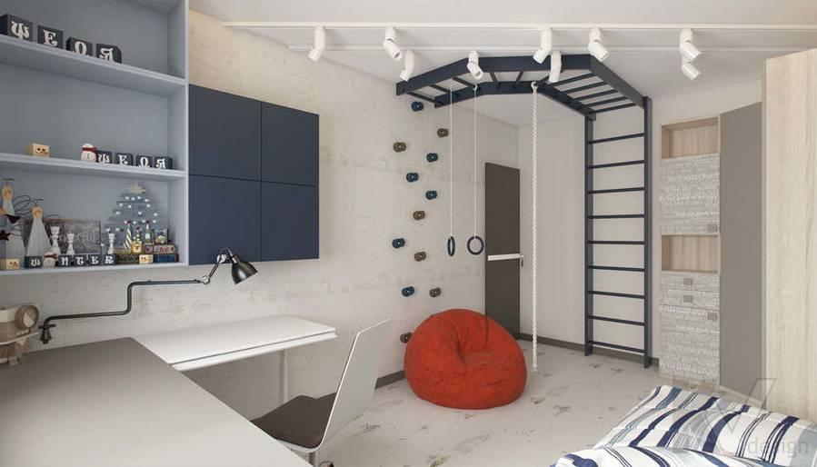 Дизайн детской в 3-комнатной квартире П-3М, Новое Ясенево - 4