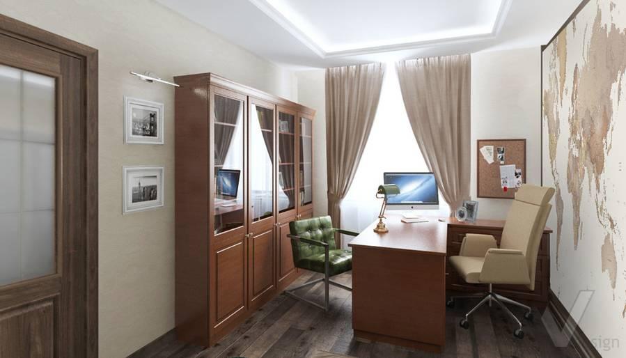 Кабинет в 4-комнатной квартире, Реутов - 2