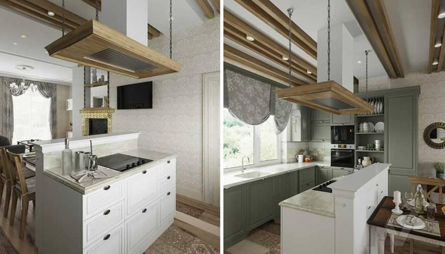 Кухня в будущем доме в Софрино - 3