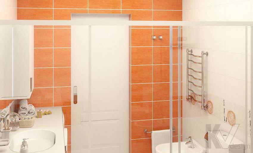 Дизайн 3 комнатной квартиры ЖК Богородский, ванная - 3
