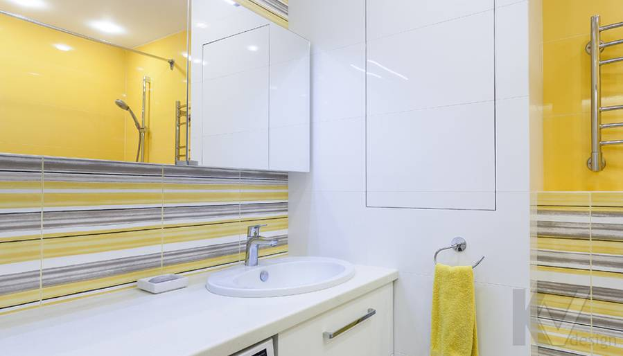 Фото ванной комнаты на проспекте Вернадского - 2
