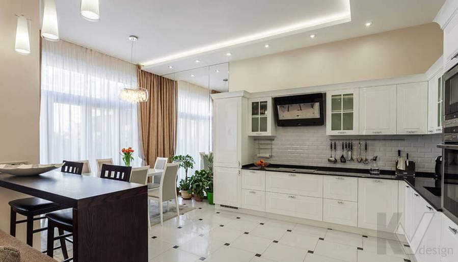 Фото кухни в таунхаусе Павлово - 1