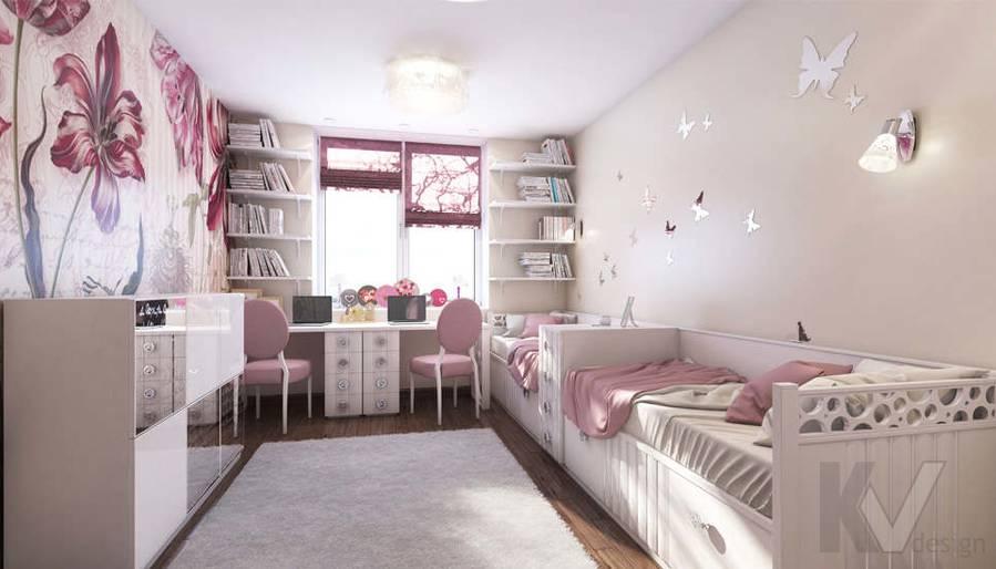 Дизайн детской в 2-комнатной квартире, Реутов - 1