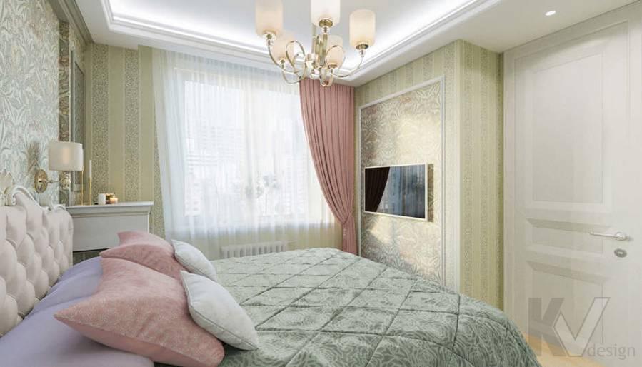 Спальня в квартире в ЖК Union Park - 2