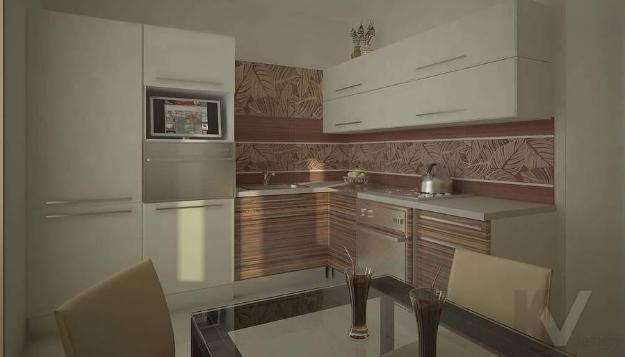 Дизайн квартиры в Марьино, кухня